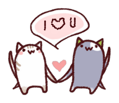 Cute Puss Stickers Pack for iMessage messages sticker-0