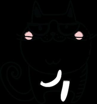 Cat Emotion Cute Sticker Pack 02 messages sticker-0