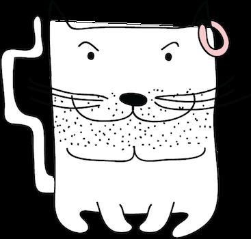 Cat Emotion Cute Sticker Pack 02 messages sticker-5