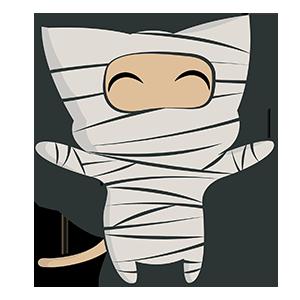 Halloween Kitty Sticker messages sticker-8