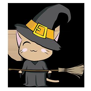 Halloween Cartoon Sticker messages sticker-9