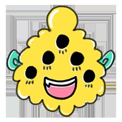 Monster Cartoon Sticker messages sticker-7