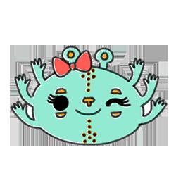 Monster Cartoon Sticker messages sticker-11