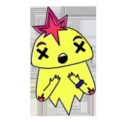 Monster Cartoon Sticker messages sticker-0