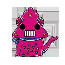 Monster Cartoon Sticker messages sticker-4