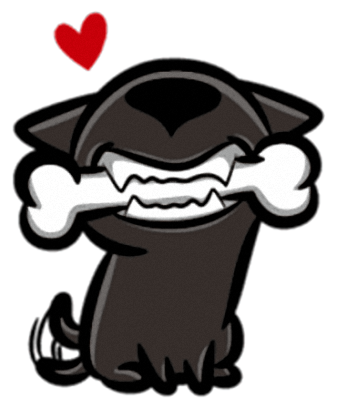 Little Dog - Cutest dog stickers for iMessage messages sticker-2