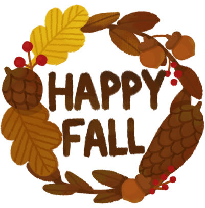 Happy Fall Stickers messages sticker-0