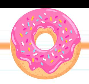 DonutMoji messages sticker-3