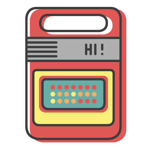 80's Gadget Stickers Pack messages sticker-10