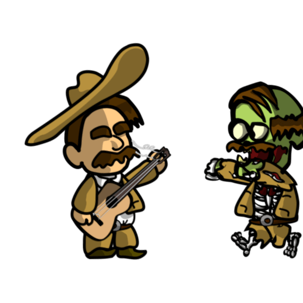 Zombie Serenade messages sticker-1