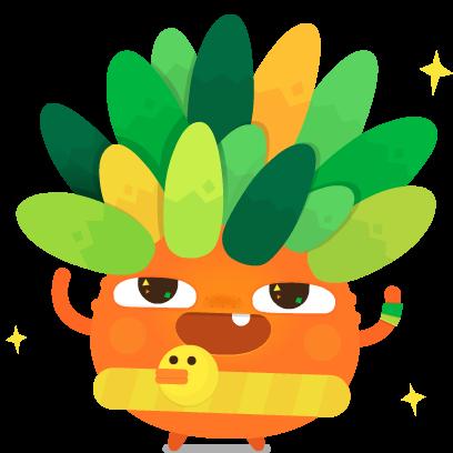 Pocket Plants - Merge Games messages sticker-4