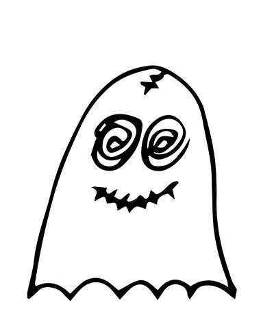 Ghostmoji Doodles messages sticker-1