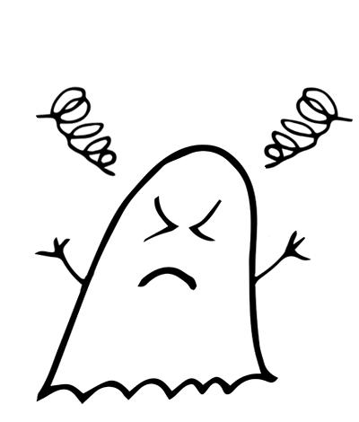 Ghostmoji Doodles messages sticker-7