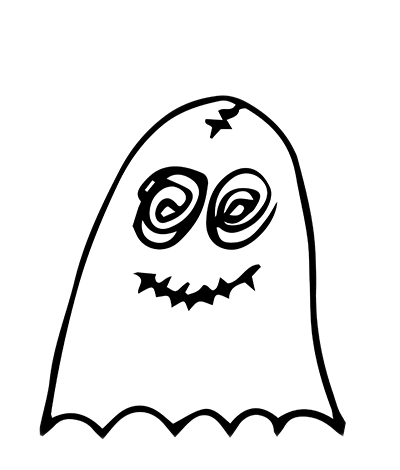 Ghostmoji Doodles messages sticker-1
