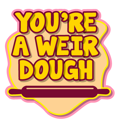 Fat Boy - Cute and clever food puns messages sticker-6