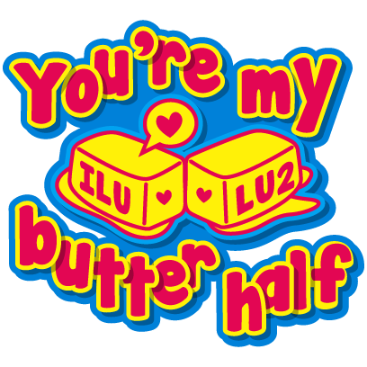 Fat Boy - Cute and clever food puns messages sticker-10