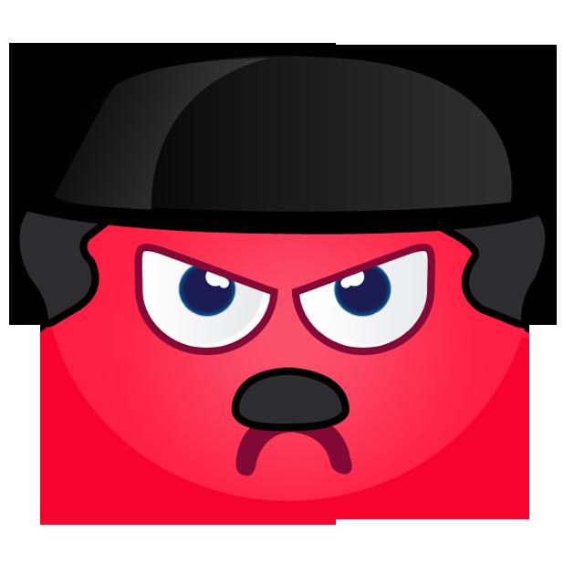 Fun Emoji Stickers - Best emoticons for iMessages messages sticker-6