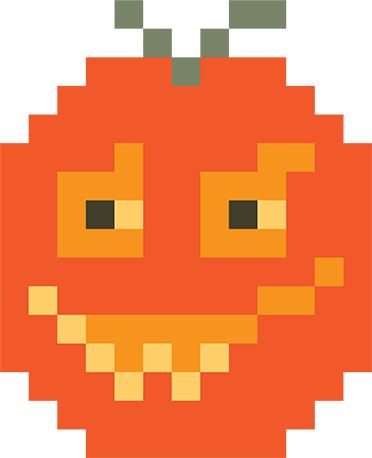 Pixel Halloween Stickers for iMessage messages sticker-6