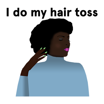 Lizzo: Coconut Oil Sticker Pack messages sticker-10
