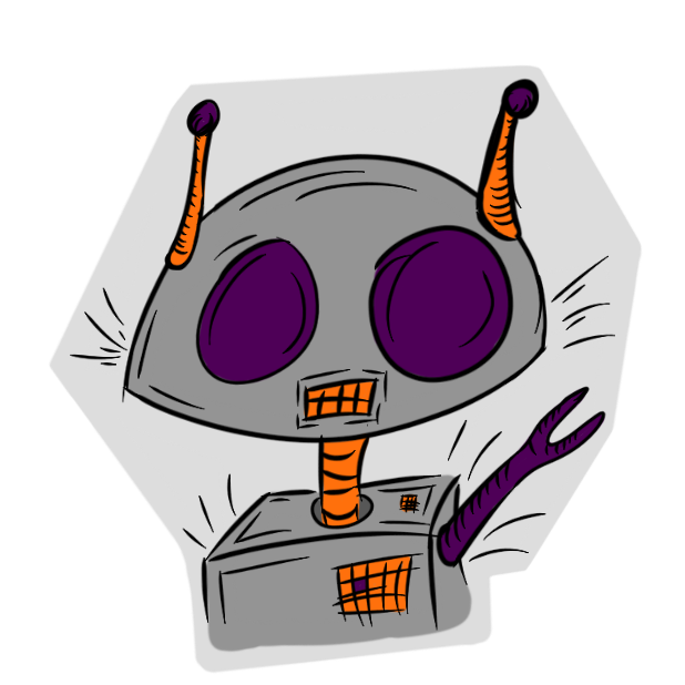 Robotics Pack messages sticker-10