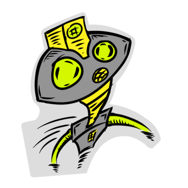 Robotics Pack messages sticker-9