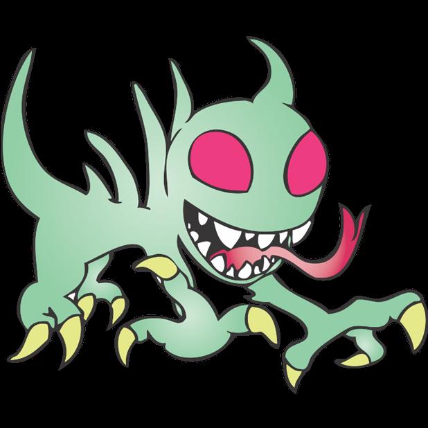 Strange Creatures: Chupacabra messages sticker-7