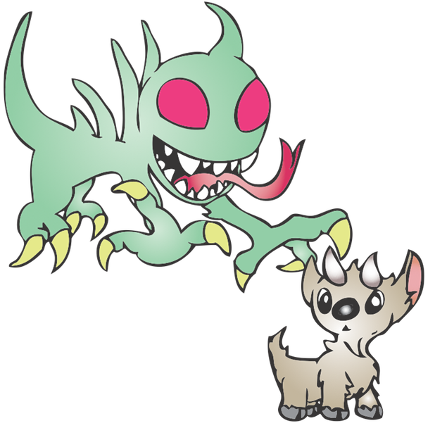 Strange Creatures: Chupacabra messages sticker-11