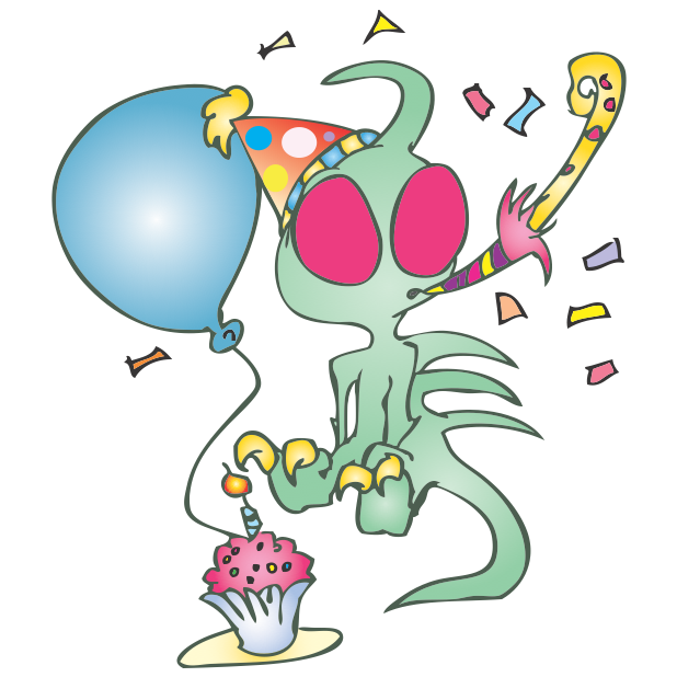 Strange Creatures: Chupacabra messages sticker-1