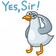 Gull! Stickers messages sticker-4