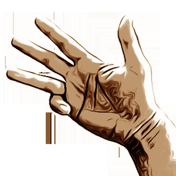 Hand gestures- Handgesten messages sticker-4