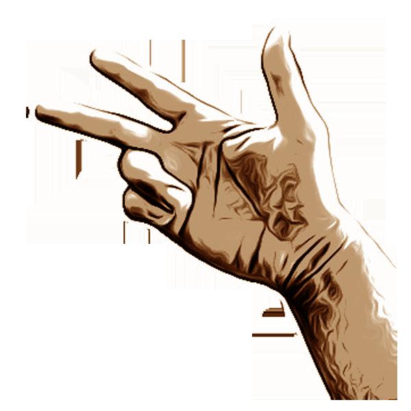 Hand gestures- Handgesten messages sticker-3