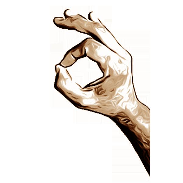 Hand gestures- Handgesten messages sticker-11
