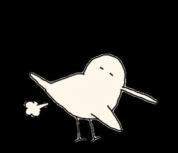 Beak is long bird messages sticker-5