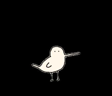 Beak is long bird messages sticker-4