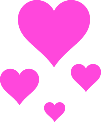 Pink Love • 100 stickers for iMessage messages sticker-4