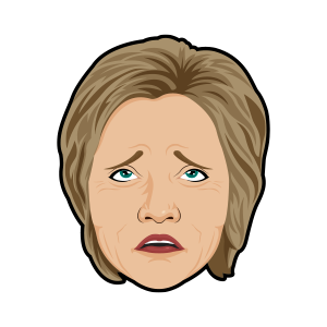 Hillary vs Trump - Stickers for iMessage messages sticker-10