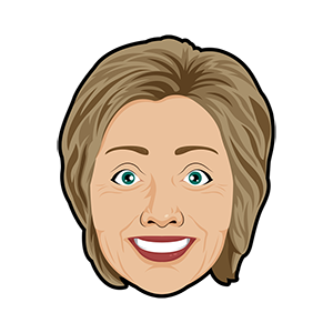 Hillary vs Trump - Stickers for iMessage messages sticker-3