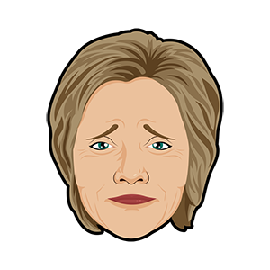 Hillary vs Trump - Stickers for iMessage messages sticker-1