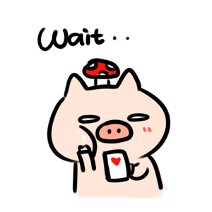 Circle Circle Pig − NHH Stickers messages sticker-3
