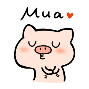 Circle Circle Pig − NHH Stickers messages sticker-10