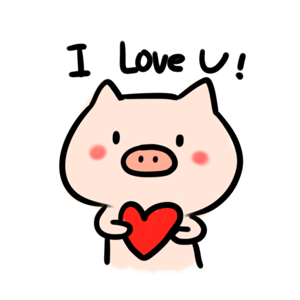 Circle Circle Pig − NHH Stickers messages sticker-4