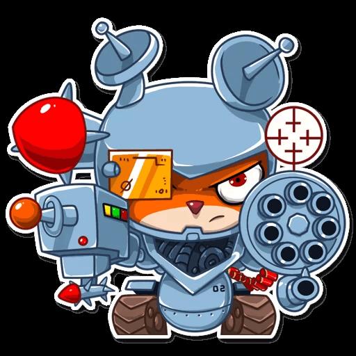 Villain Squirrel - Halloween iMessage stickers messages sticker-9