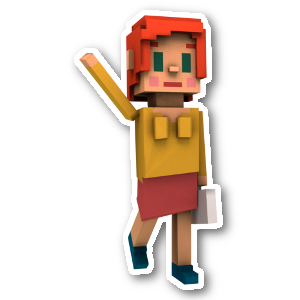 Blocky Farm messages sticker-2