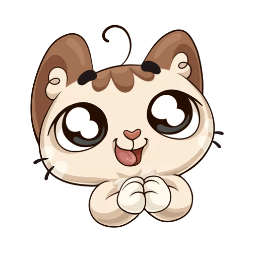 Oscar the cute kitten iMessage stickers messages sticker-10