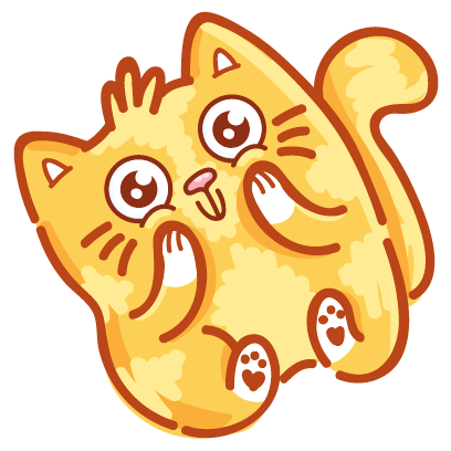 Cat stickers for iMessage! messages sticker-2