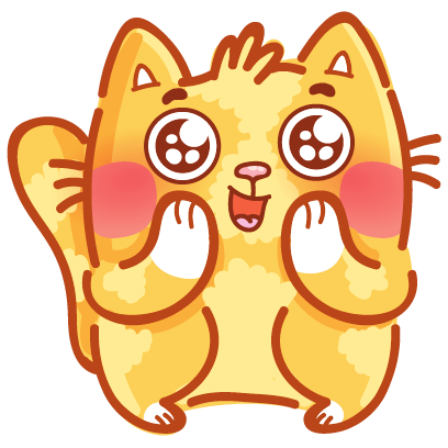 Cat stickers for iMessage! messages sticker-3