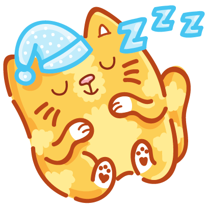 Cat stickers for iMessage! messages sticker-9