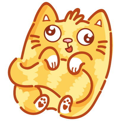 Cat stickers for iMessage! messages sticker-11