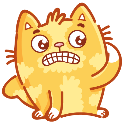 Cat stickers for iMessage! messages sticker-10