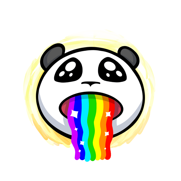 The CHiCHi Panda Sticker Pack by Cute Panda Town messages sticker-10